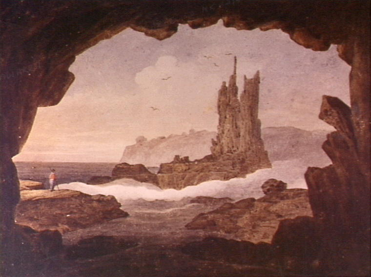 An old painting of the Australian coast, Kiama