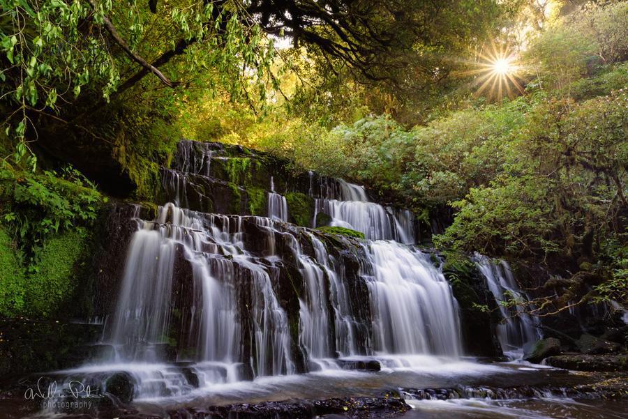 Purakaunui Falls – The star of absolution