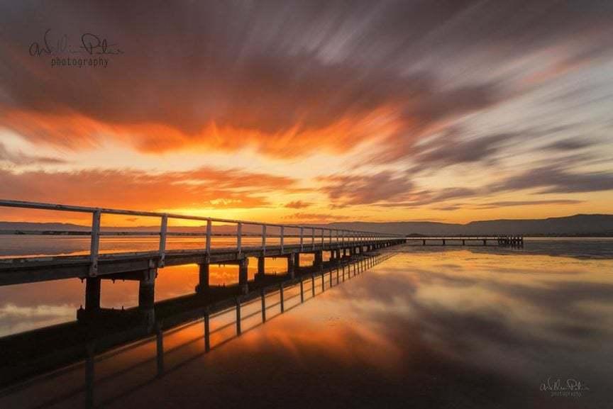 Long exposure sunset.