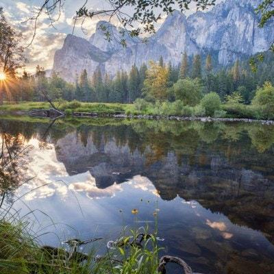 Yosemite Valley at sunrise