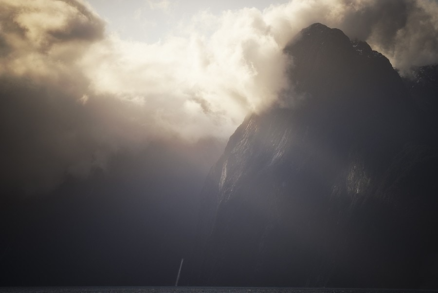 Milford Sound sunset - NZ