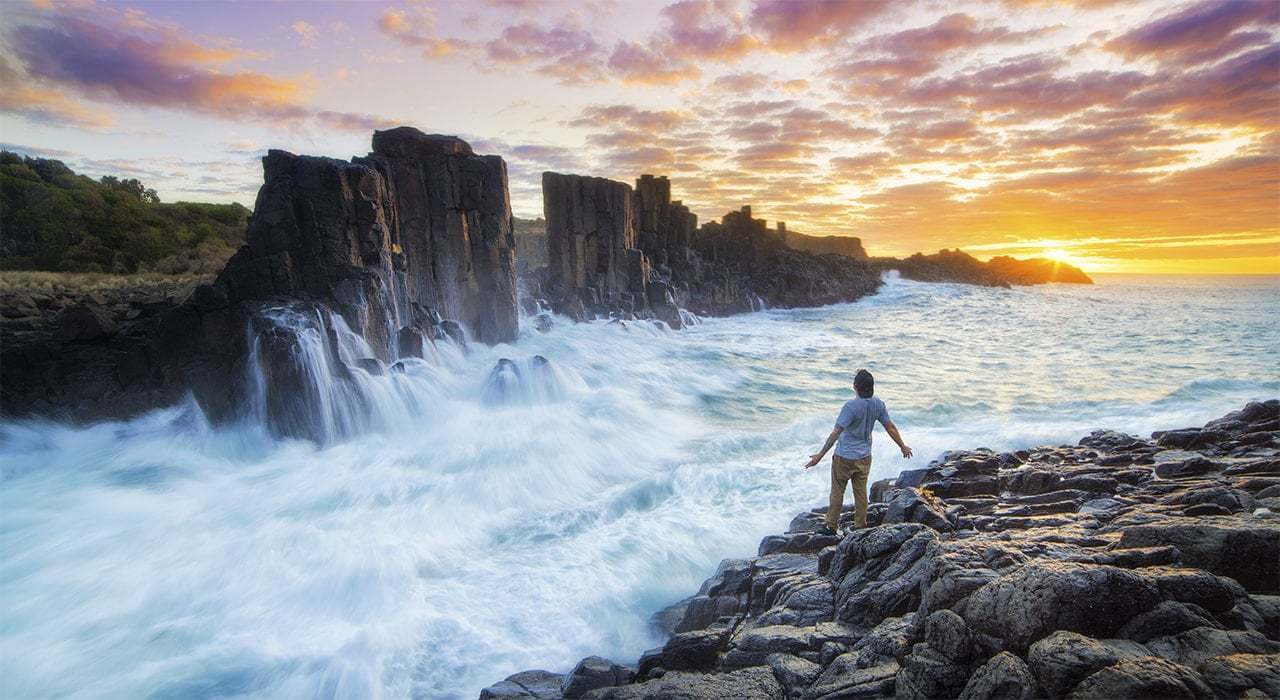 Sunrise at Bombo Quarry NSW