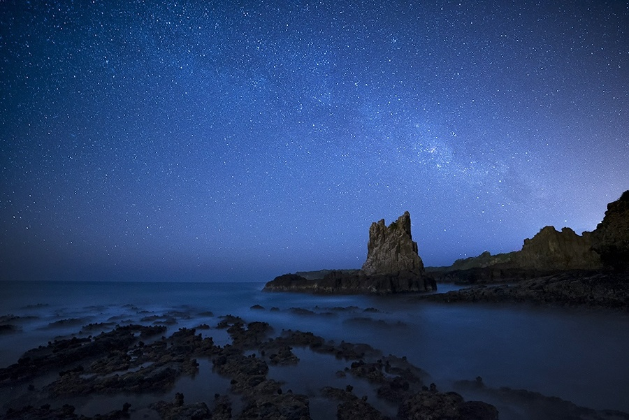 The Milky Way over Cathedral Rocks