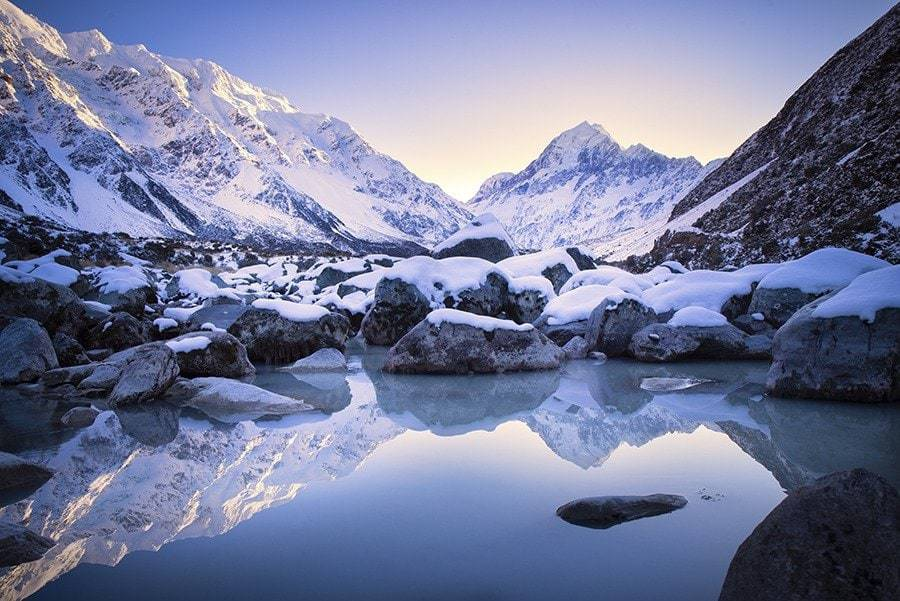 Mt Cook, Hooker Valley Track