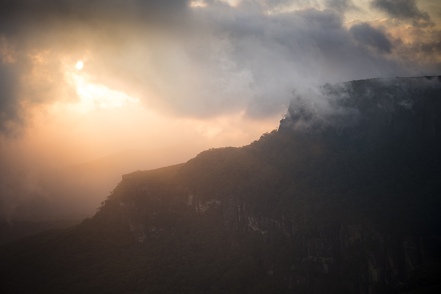 Sunset in the Budawangs, Morton National Park