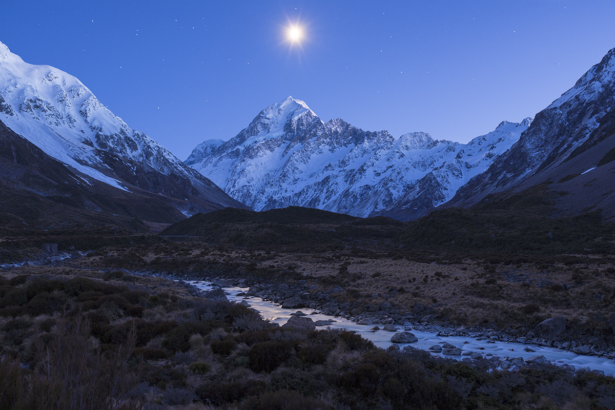 Mount Cook New Zealand photography tour