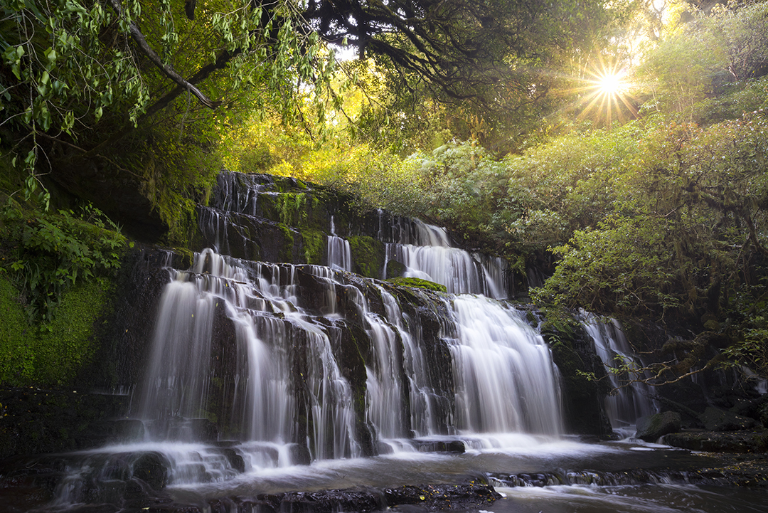 Purakaunui Falls New Zealand