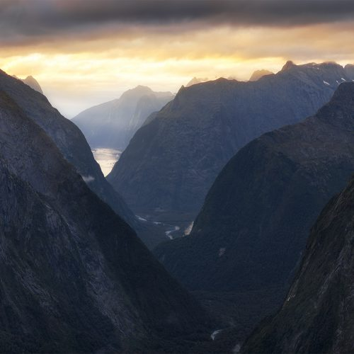 Mountains of Fiordland, New Zealand