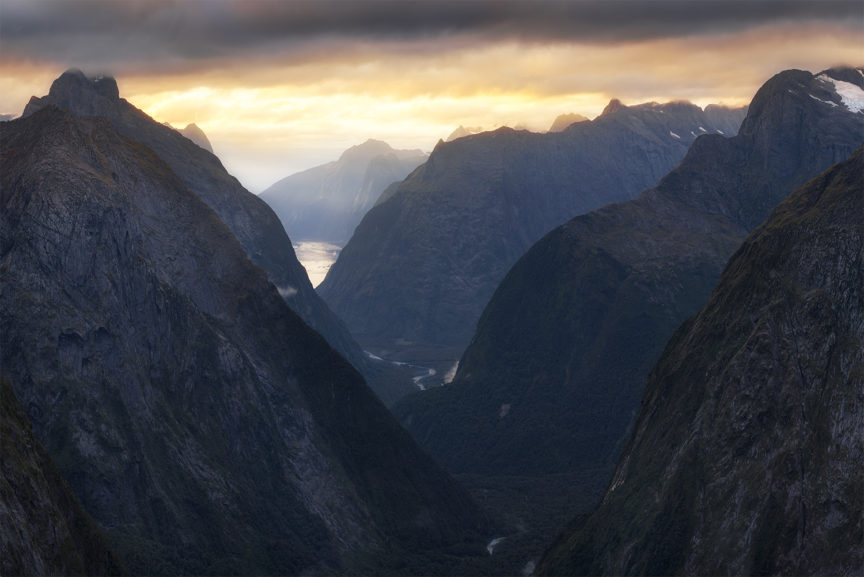 Mountains of Fiordland, New Zealand