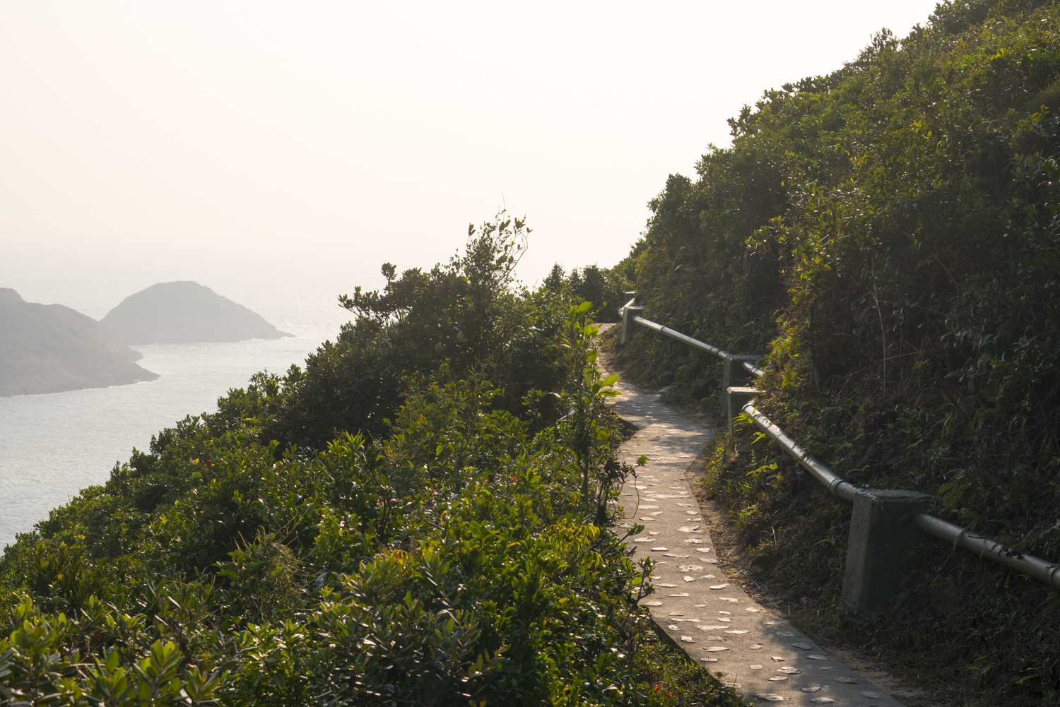 Hong Kong hiking trial
