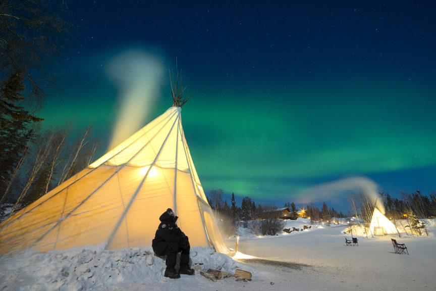 Under the Northern Lights, Canada