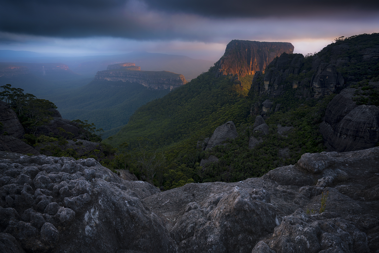 Shrouded Gods summit, the Budawangs NSW