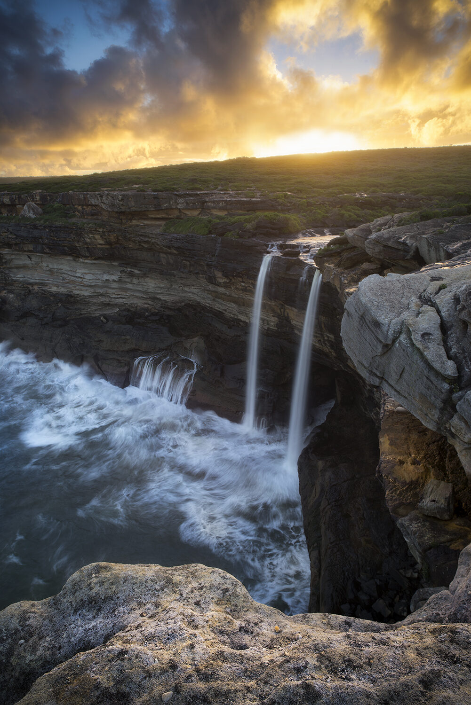 Royal National Park Waterfall