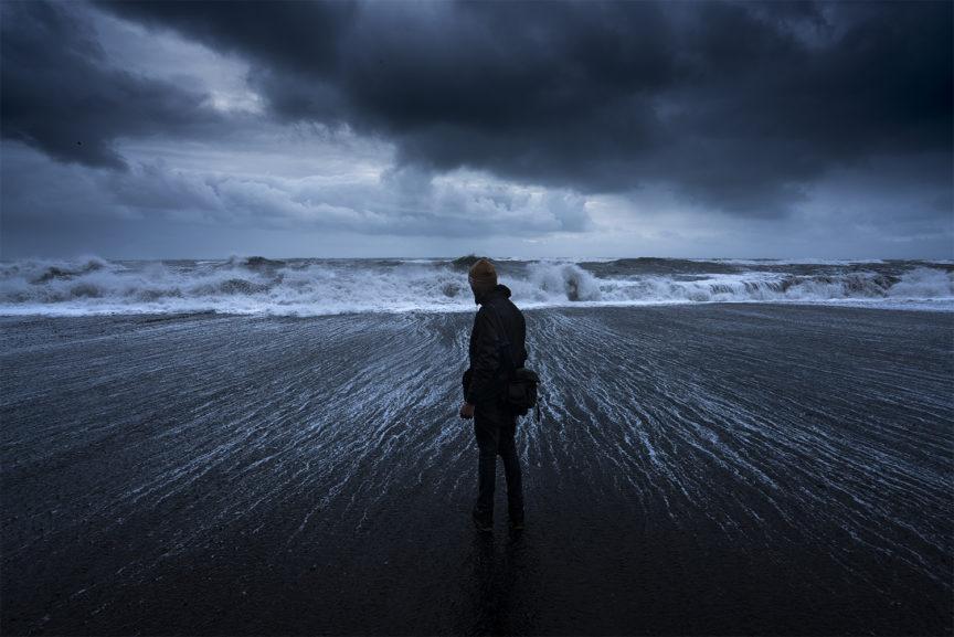 Cameron Sandercock, Vik Iceland