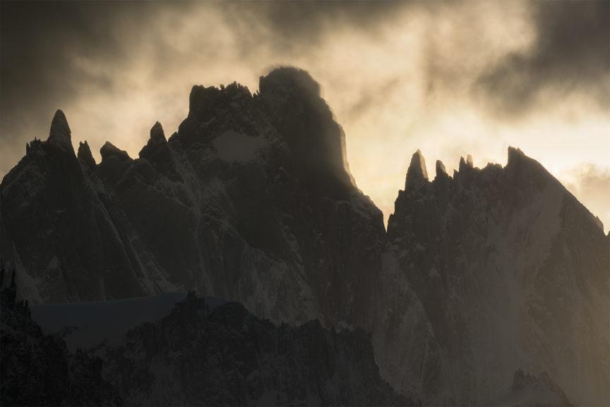 Mountain light, Patagonia