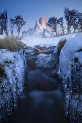 Winter, Mt Fitzroy Patagonia