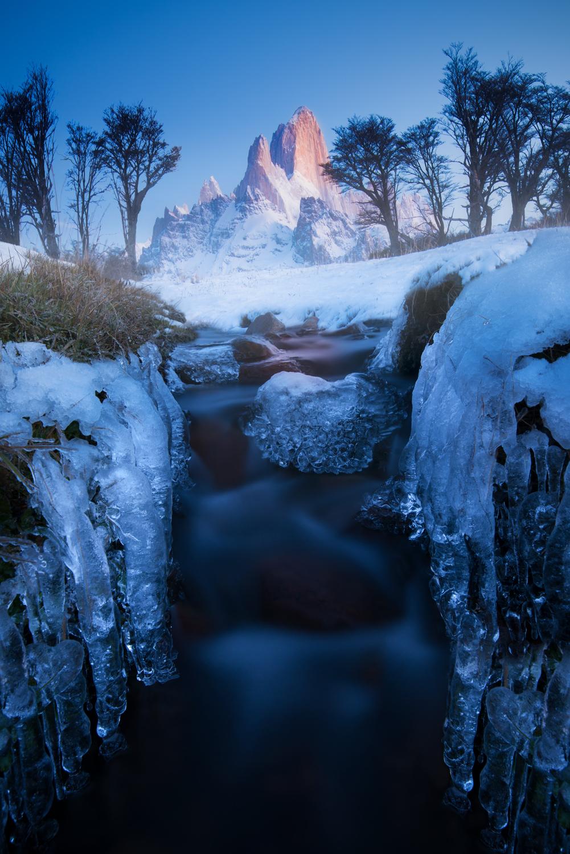 Patagonia, winter