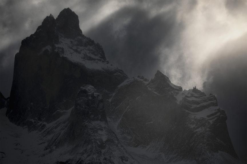 Sunlight, Torres Del Paine Patagonia