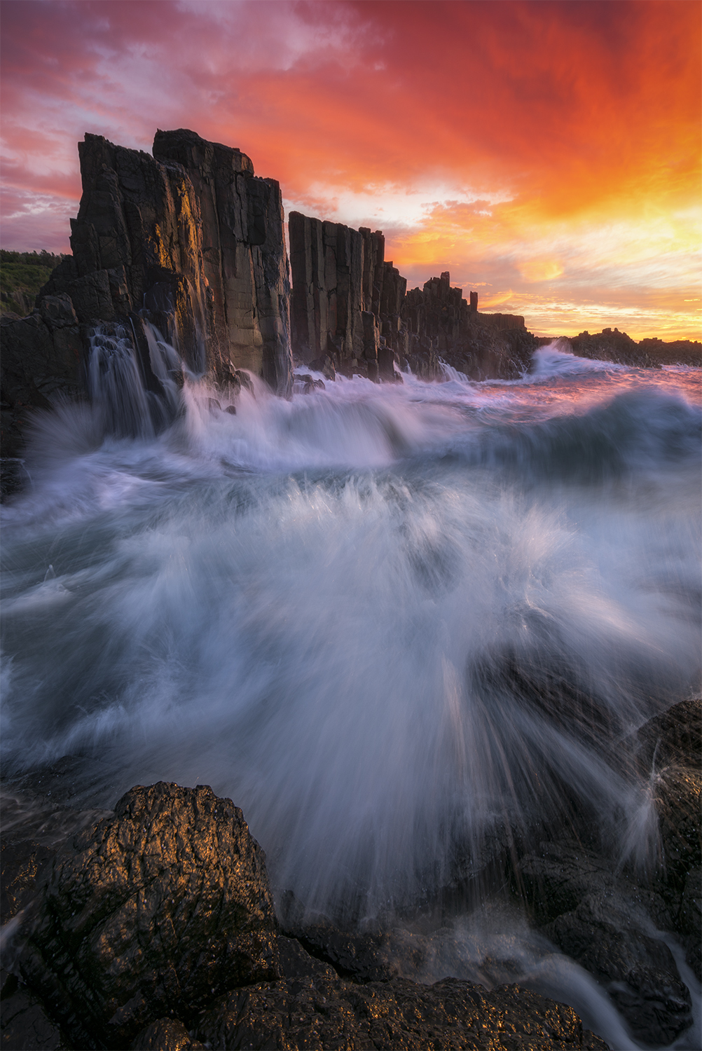 Bombo Quarry sunrise photography