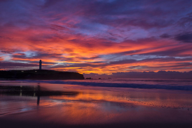 Wollongong Australia sunrise