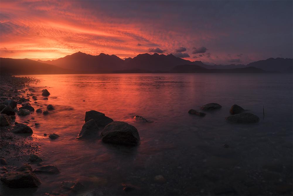 Manapouri sunset RX10IV