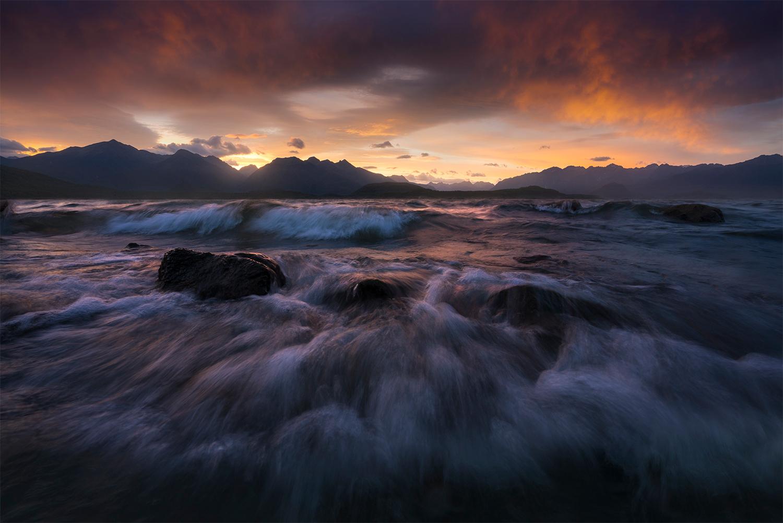 Lake Manapouri Sunset