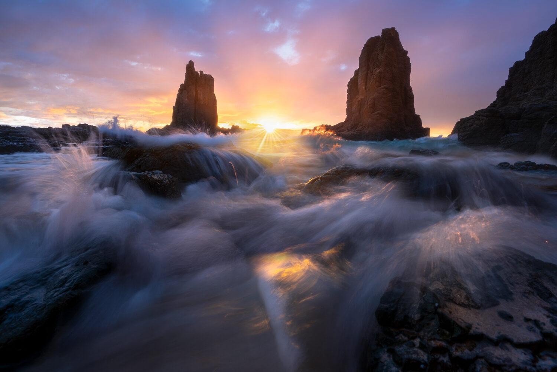 Cathedral Rocks sunrise Kiama
