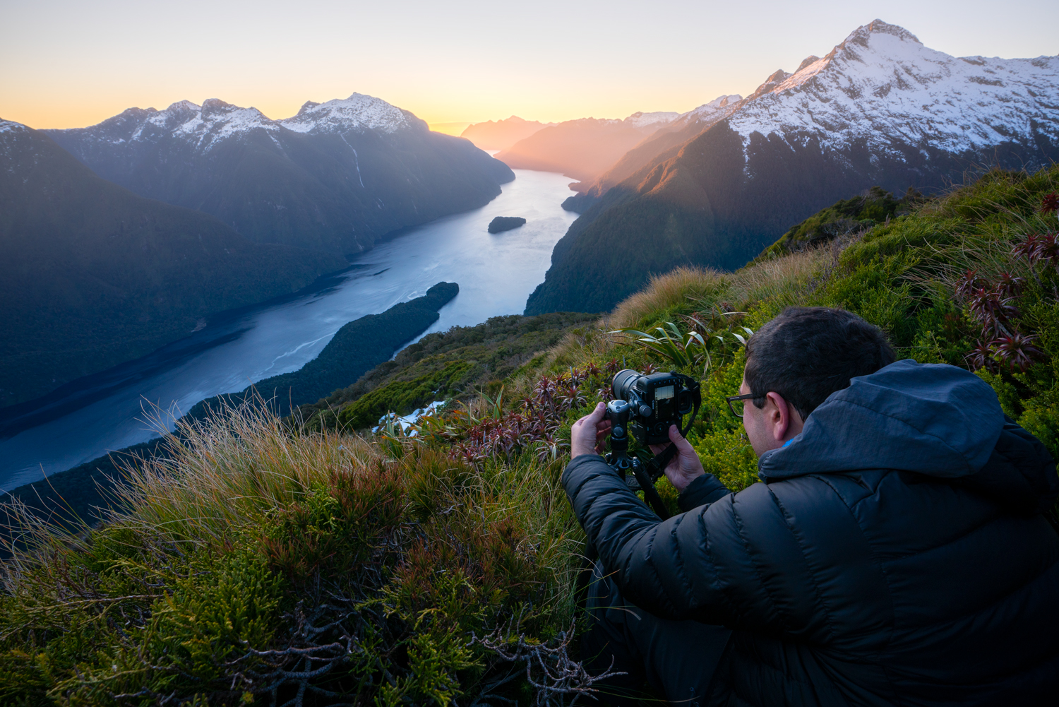 New Zealand wilderness photography workshop