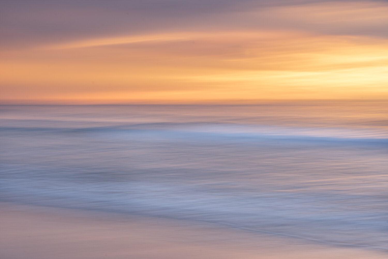 Motion blur seascape