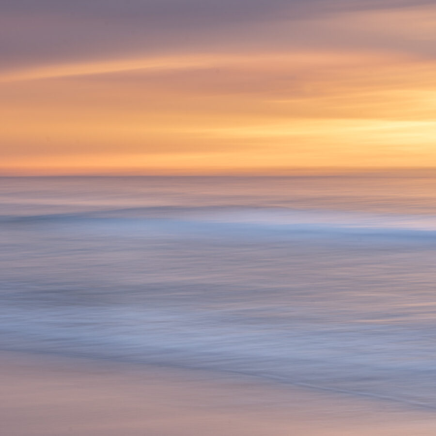 Motion blur seascape