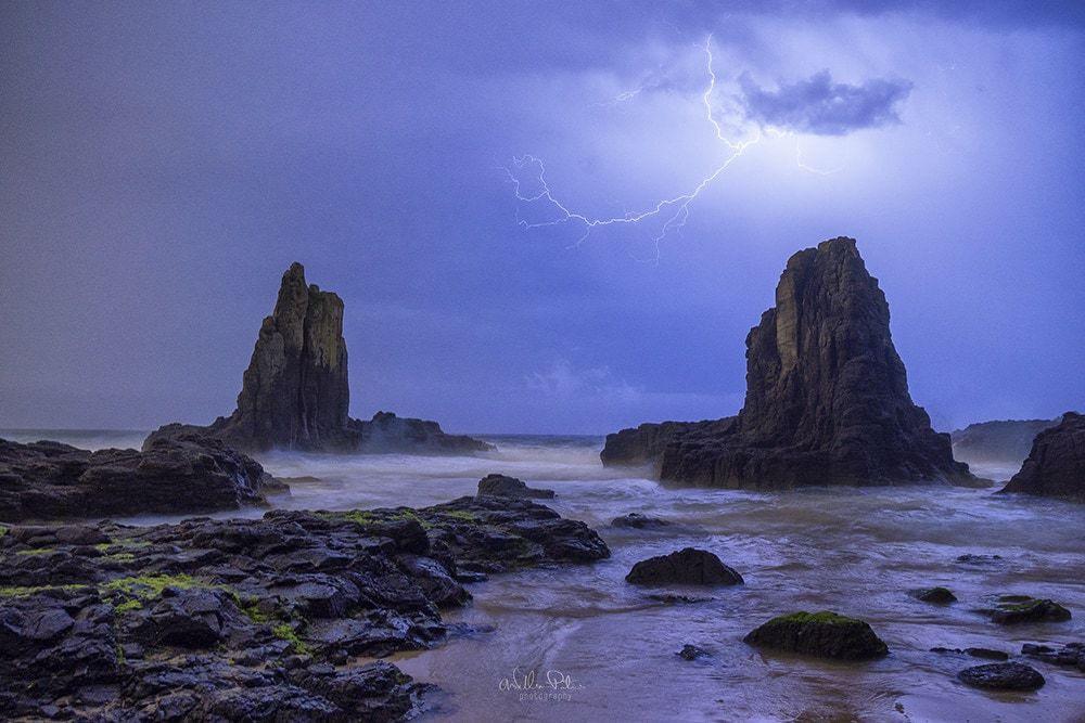 Lightning photography.