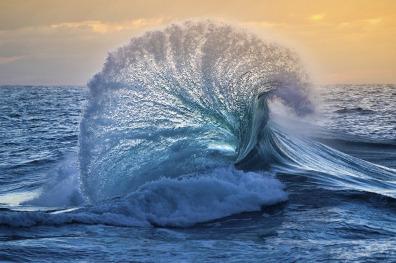 The oceans edge