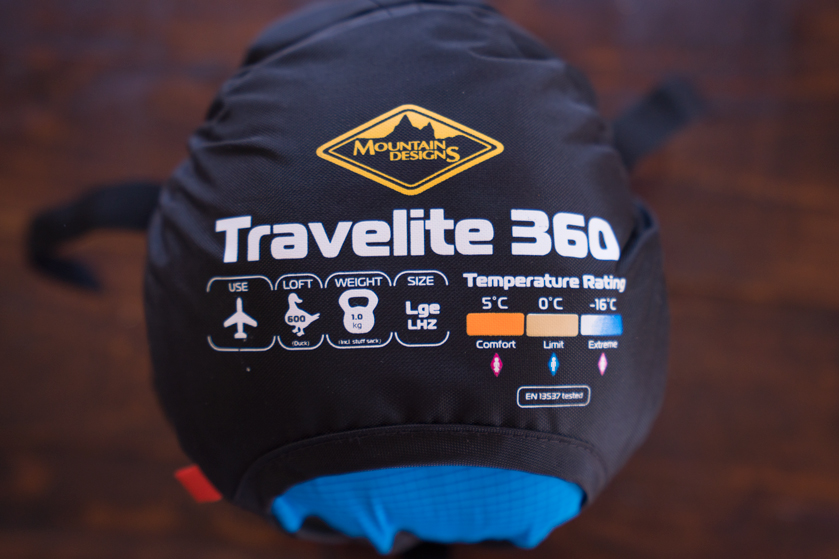 Travelite 360 sleeping bag