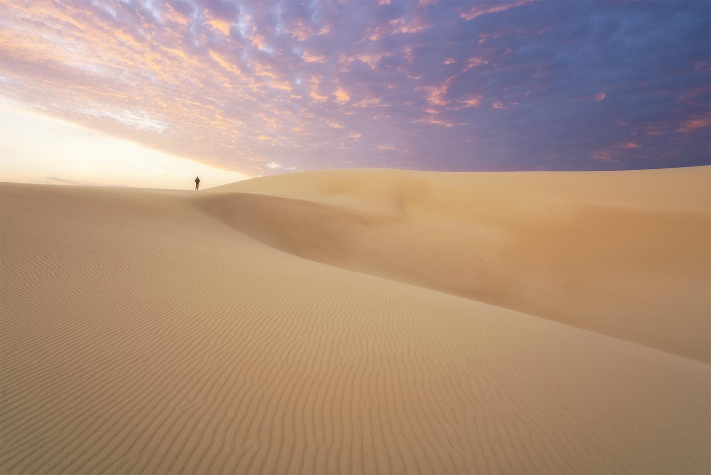 NSW Stockton sand dunes