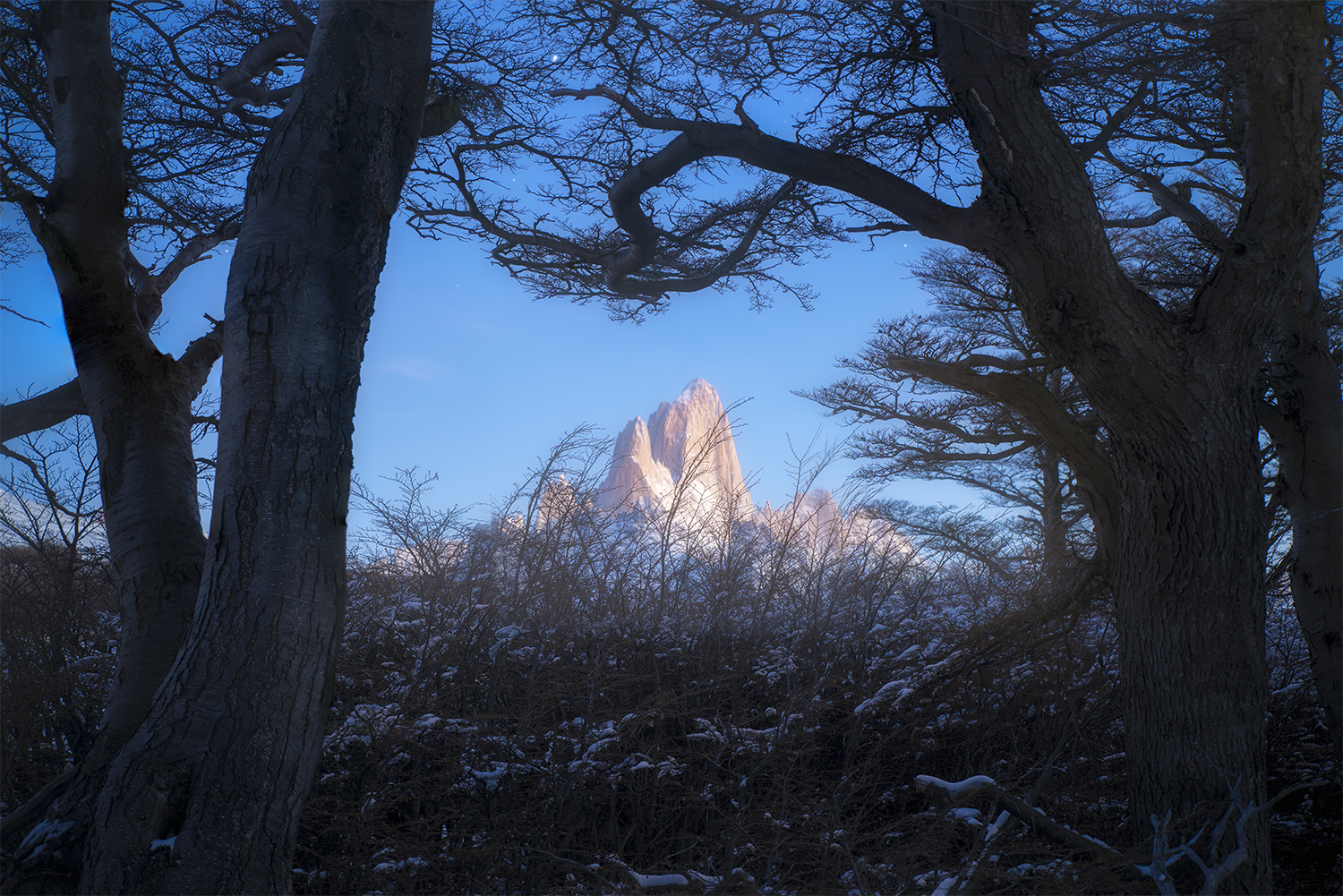 Patagonia, Fitzroy in winter