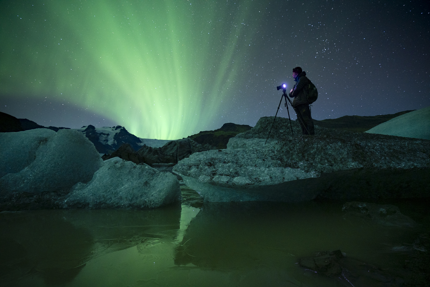 Northern lights, Iceland photography tour