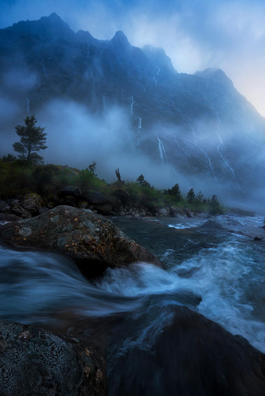 Heavy rain, Fiordland national park