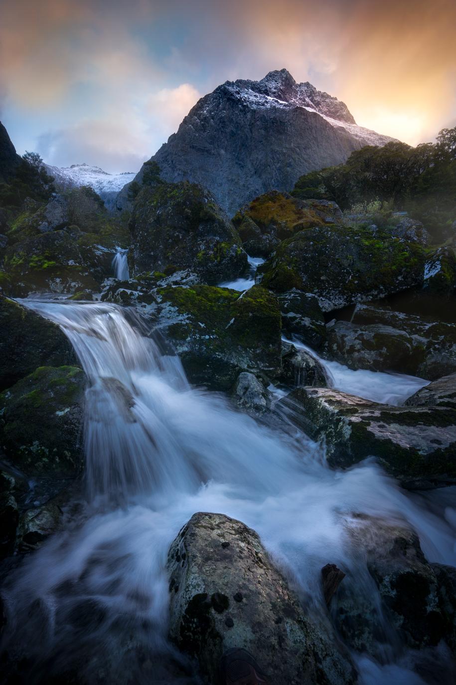 Mt Talbot, Fiordland New Zealand
