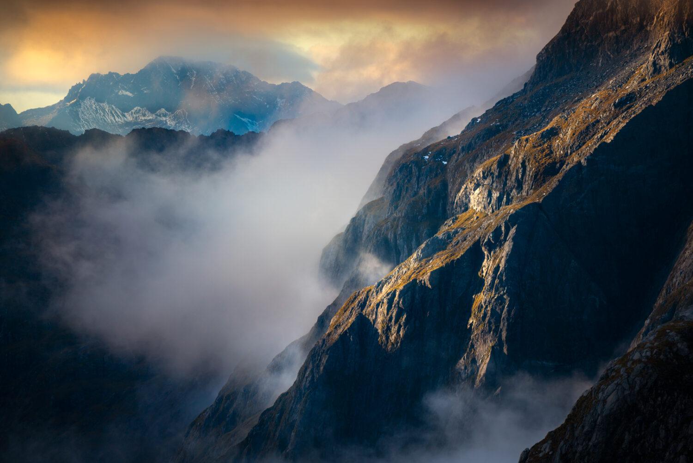 Fiordland mountains New Zealand