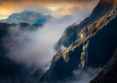 Fiordland mountains New Zealand