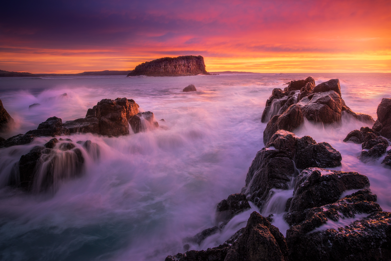Minnamurra seascape photography workshop