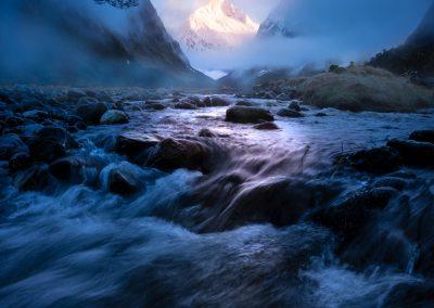 Fiordland atmosphere New Zealand