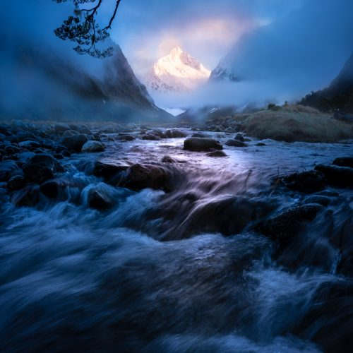 Fiordland atmosphere New Zealand