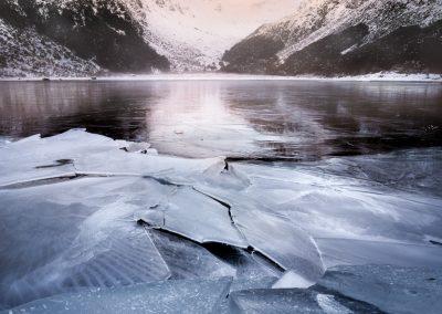 Frozen Lake Mackenzie New Zealand