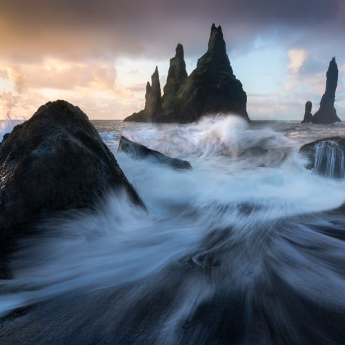 Vik sea stacks, Reynisfjara