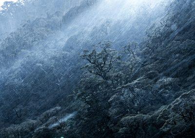 Dramatic weather, Fiordland New Zealand