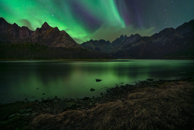 Aurora Borealis, Lofoten Norway