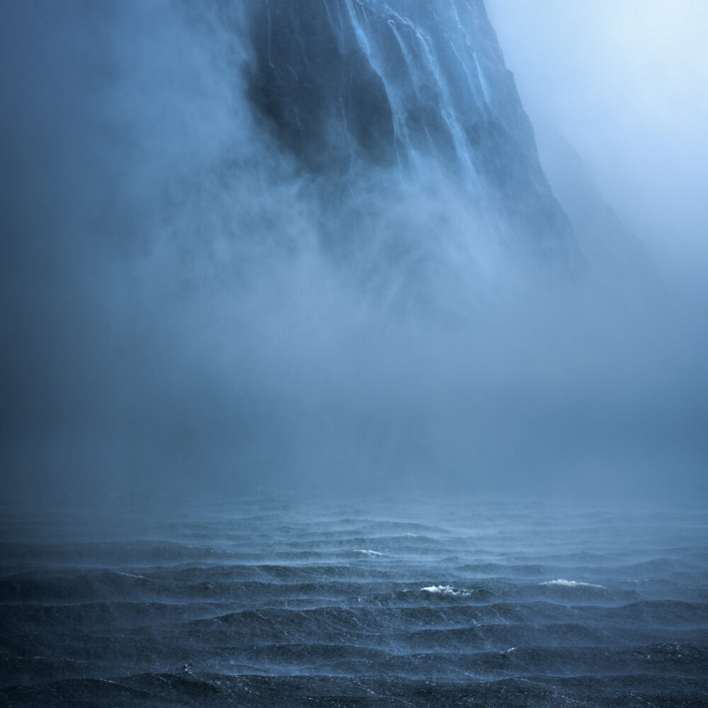 Milford Sound Waterfalls Copyright William Patino