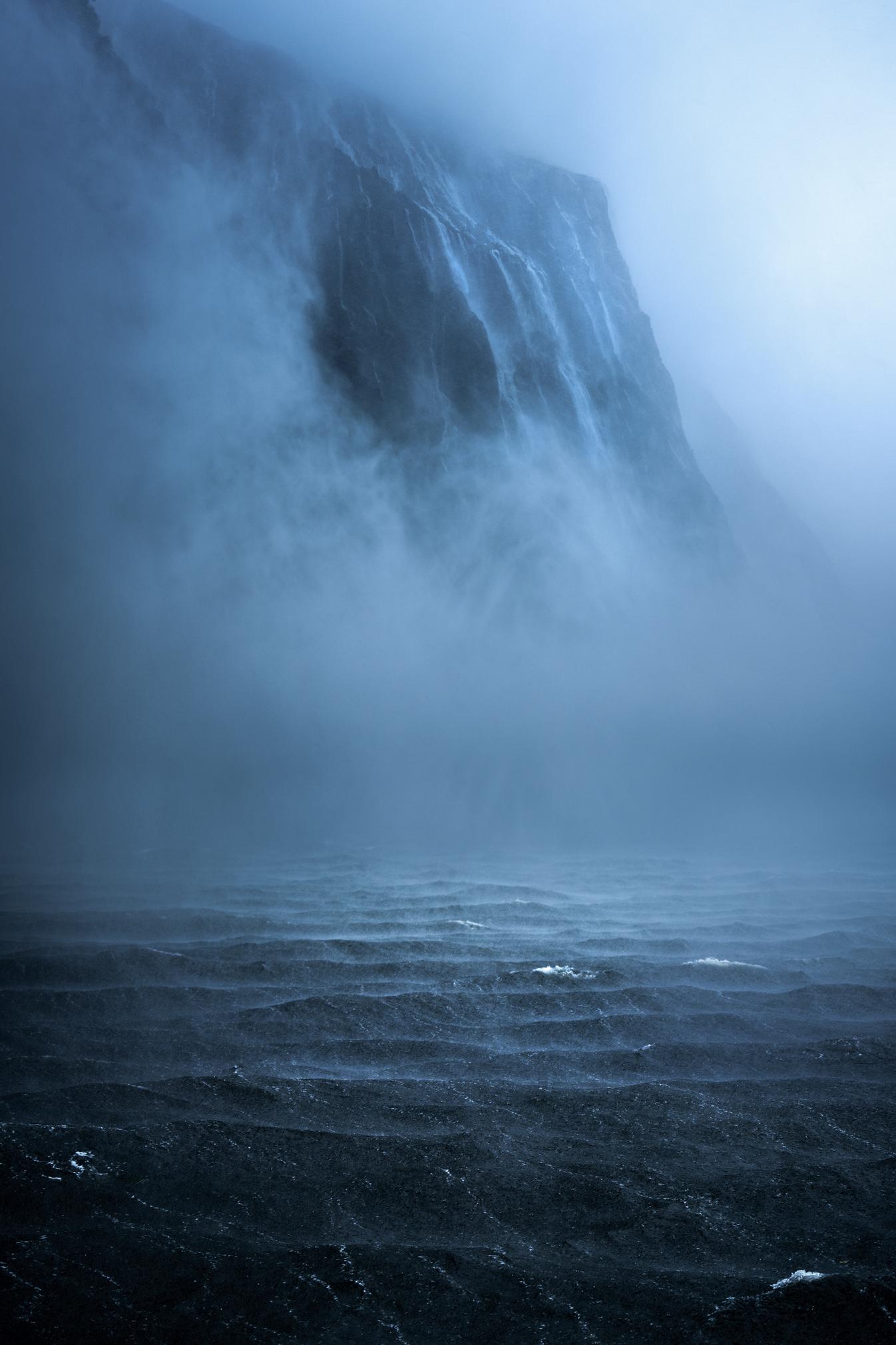Milford Sound Waterfalls Copyright William Patino