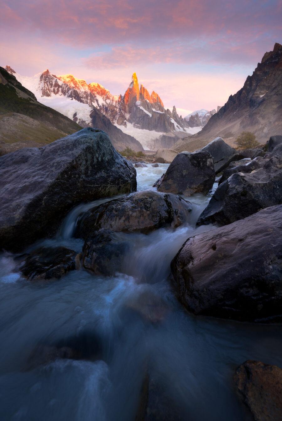 Cerro Torre Sunrise, Patagonia